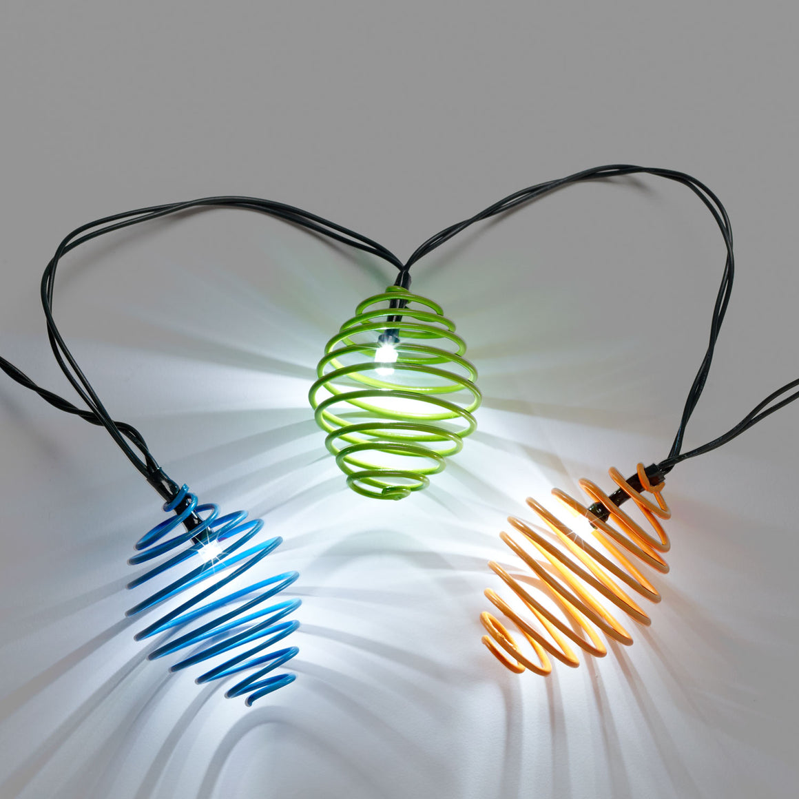 Solar String Light - Curvet (Asst)  - 20 ct.