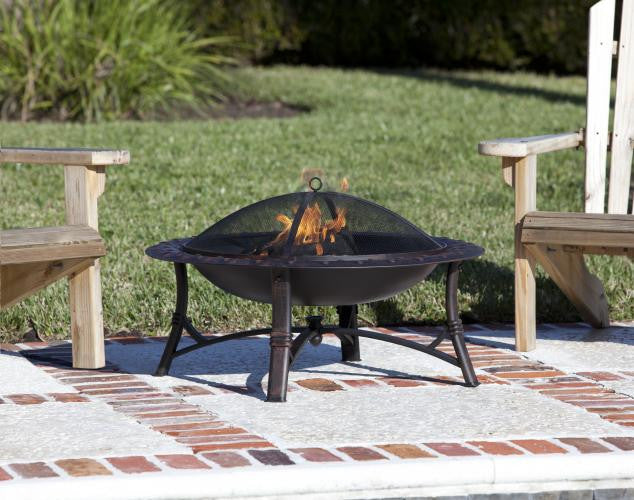 Roman Fire Pit , Well Traveled Living- grayburd