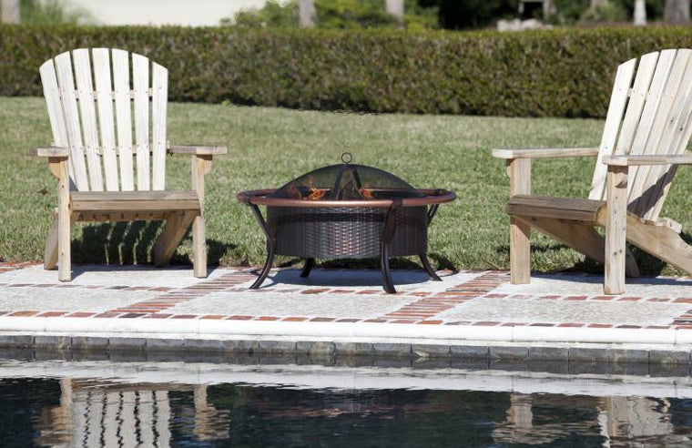Copper Rail Fire Pit , Well Traveled Living- grayburd