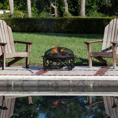 "30"" Portsmouth Fire Pit from Fire Sense , Well Traveled Living- grayburd"