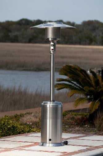 Stainless Steel Pro Series Patio Heater , Well Traveled Living- grayburd