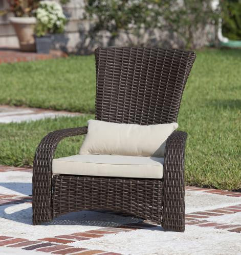 Deluxe Coconino Wicker Chair , Well Traveled Living- grayburd