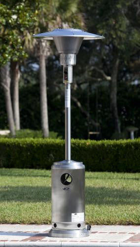 Fire Sense Stainless Steel Prime Round Patio Heater , Well Traveled Living- grayburd