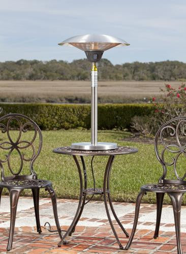 Cimarron Stainless Steel Table Top Halogen Patio Heater , Well Traveled Living- grayburd