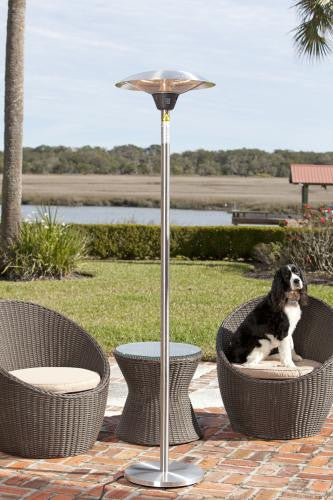 Frisco Stainless Steel Halogen Patio Heater , Well Traveled Living- grayburd