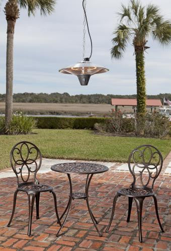 Gunnison Aluminum Hanging Halogen Patio Heater , Well Traveled Living- grayburd