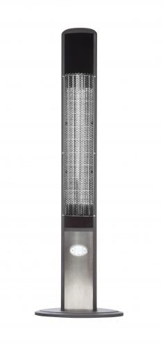 Beau Aspen Tower Floor Standing Halogen Electric Patio Heater , Well Traveled  Living  Grayburd ...