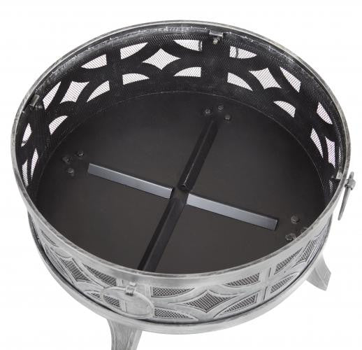 Firenzo Round Fire Pit , Well Traveled Living- grayburd