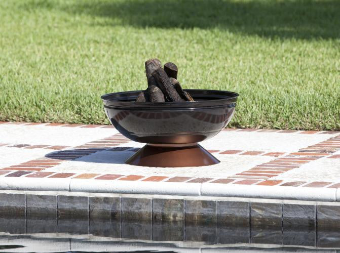 FIRE PIT by Degano , Well Traveled Living- grayburd
