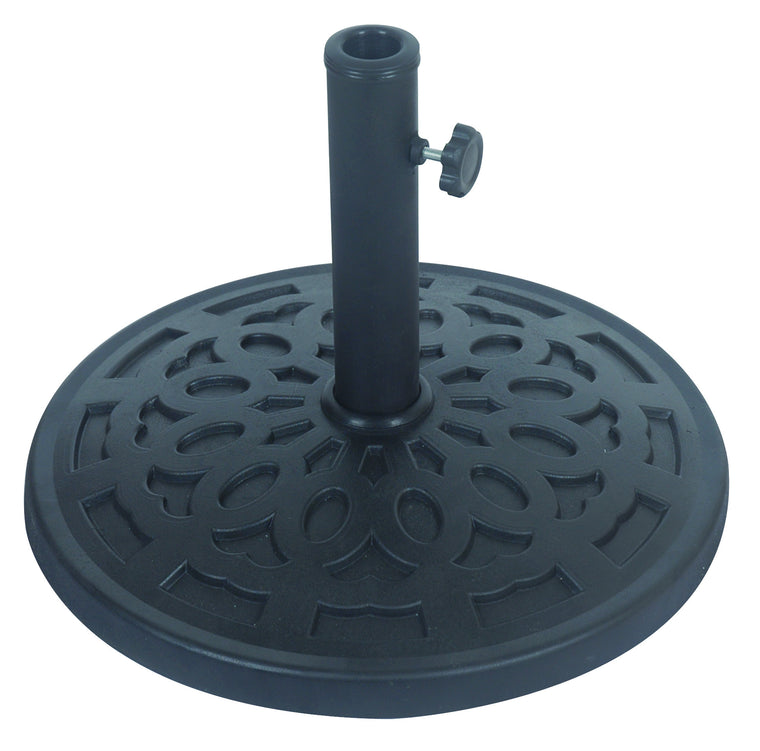 Stone Resin Outdoor Garden Umbrella Pole Base 14 KG , Bond- grayburd