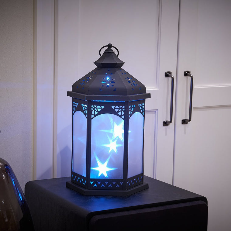 Biltmore Star Lantern with White LED's
