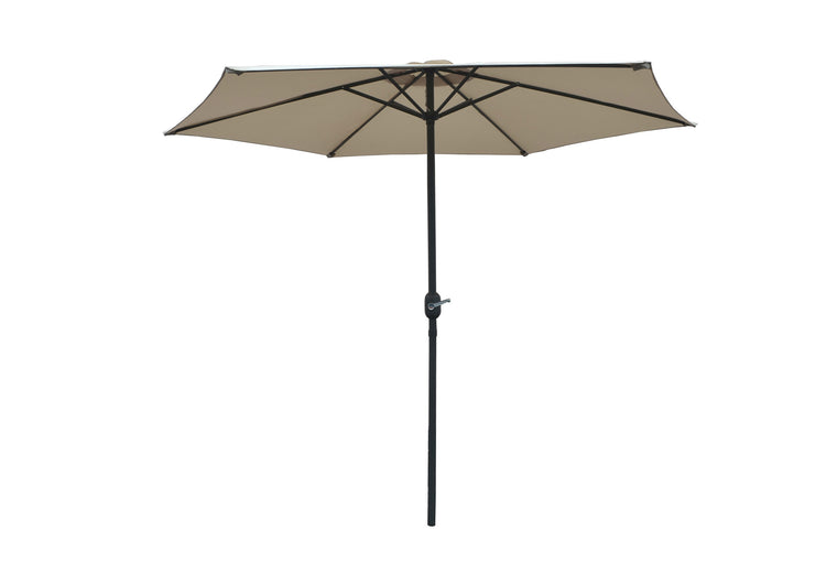 W Unlimited Brescia Beige Outdoor Patio Garden Umbrella Box , W Unlimited- grayburd