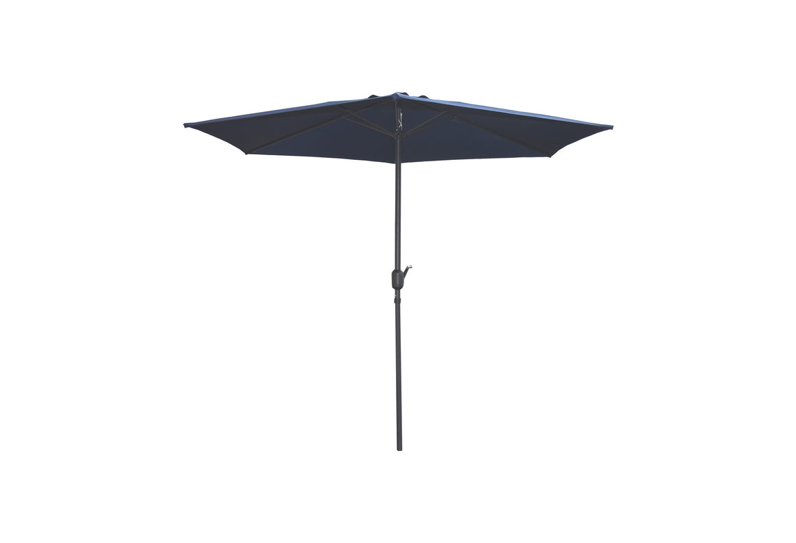 W Unlimited Brescia Deep Blue Outdoor Patio Garden Umbrella Box , W Unlimited- grayburd