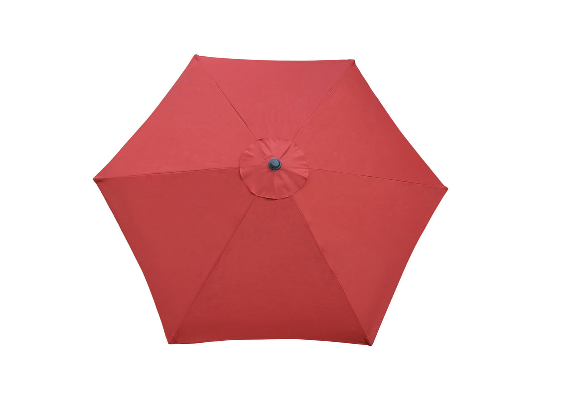 W Unlimited Brescia Red Outdoor Patio Garden Umbrella Box , W Unlimited- grayburd