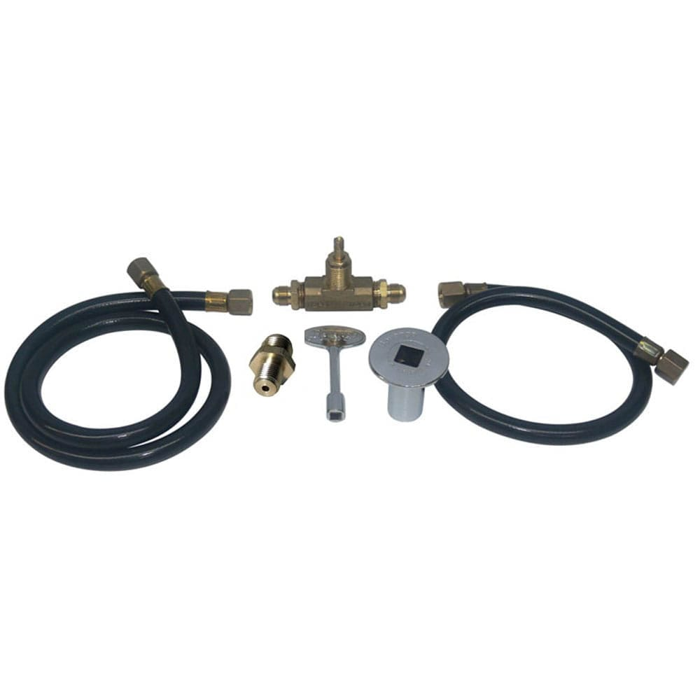 Connection Kit NG for 20 inch round drop in burner - grayburd