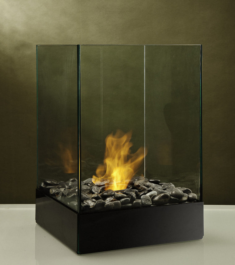 Cell Micro 4x4 Post Cap Bio Ethanol Outdoor Fireburner , Decorpro- grayburd