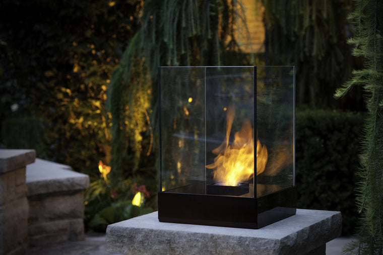 Cell Bio Ethanol Indoor/Outdoor Fireburner , Decorpro- grayburd