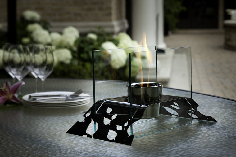 Leaf Bio Ethanol Indoor/Outdoor Fireburner , Decorpro- grayburd