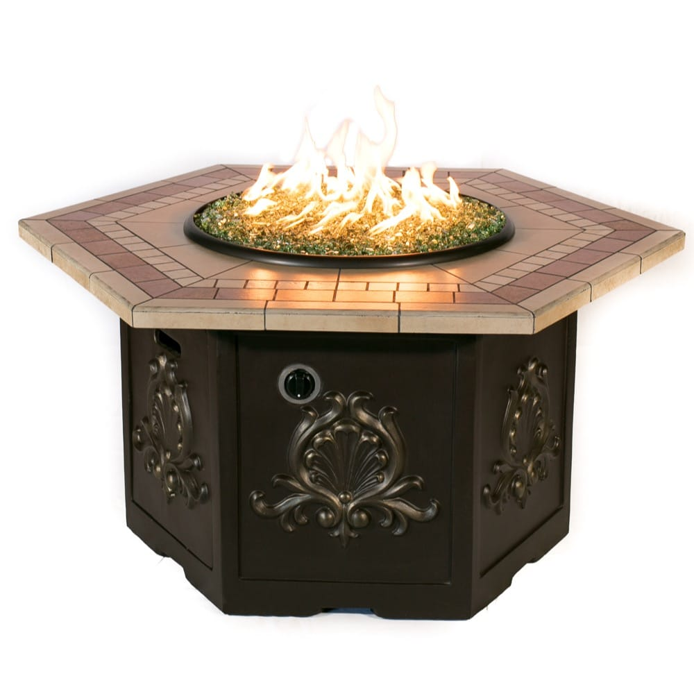 Classic Hex Fire Pit - grayburd