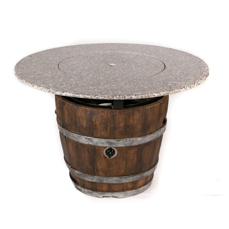 42 inch Diameter Granite Table Top - grayburd