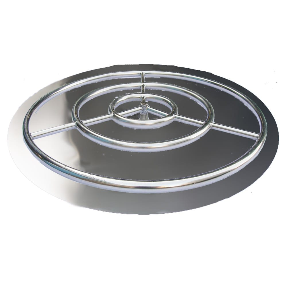 36 inch Stainless Steel Pan Ring - grayburd