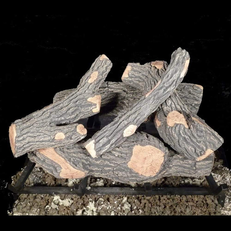 18 inch Canyon Oak Gas Logs - grayburd