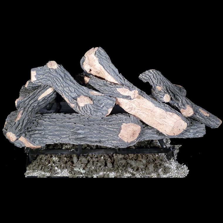 30 inch Canyon Oak Gas Logs - grayburd