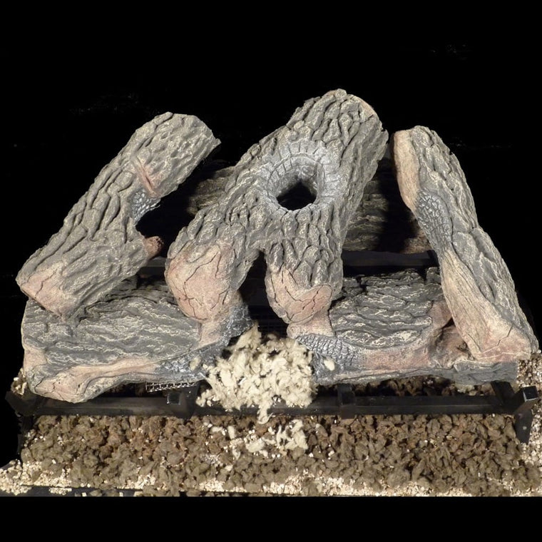 18 inch Kingston Gas Logs - grayburd