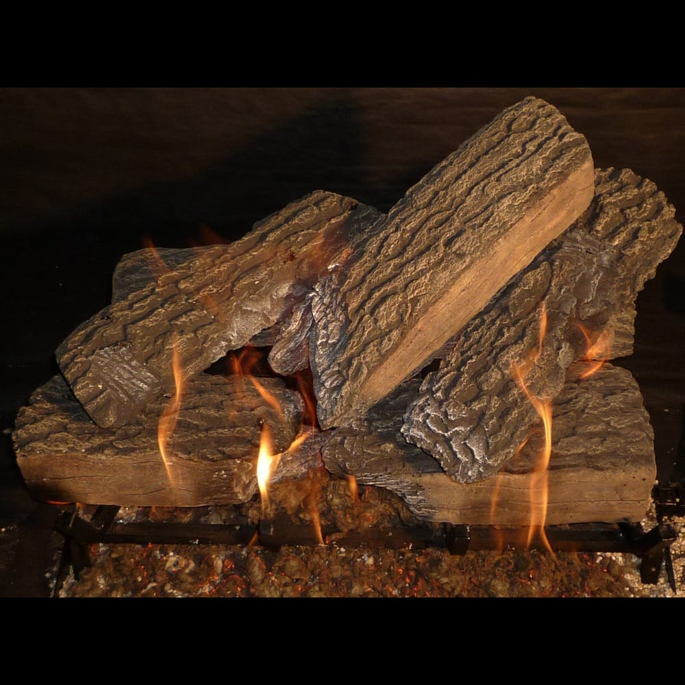 24 inch Split Oak Gas Logs - grayburd