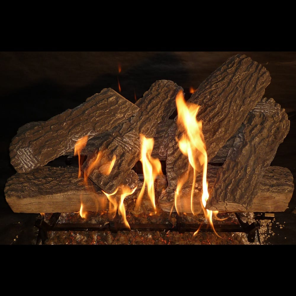 30 inch Split Oak Gas Logs - grayburd