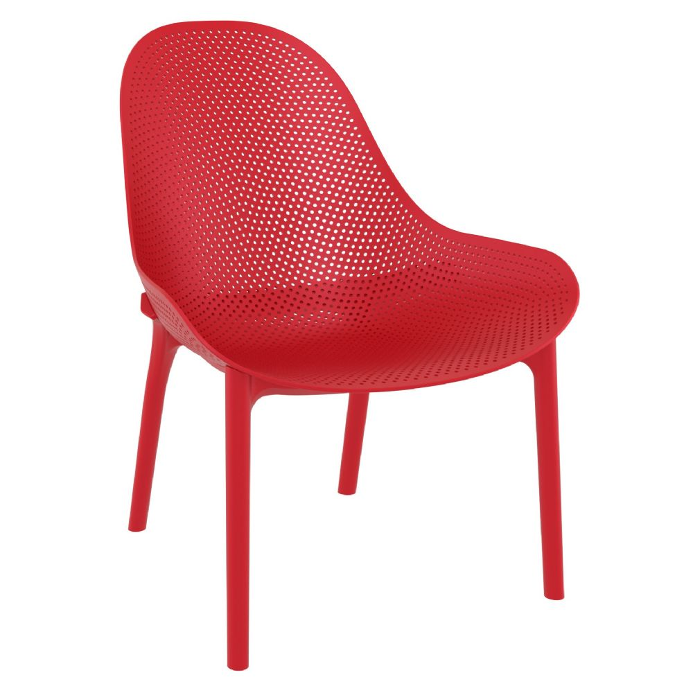 Sky Lounge Chair Red set of 2