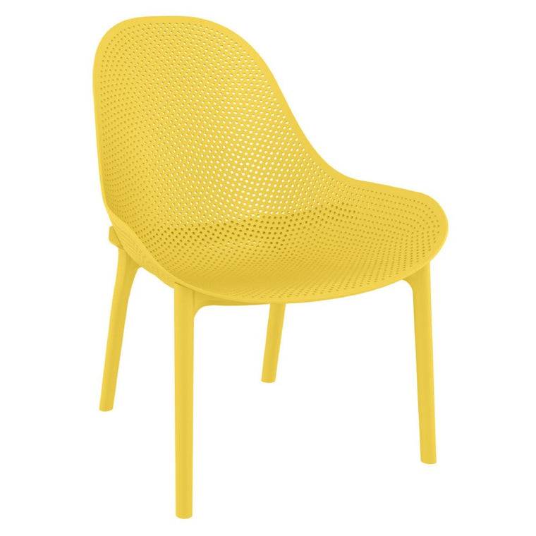 Sky Lounge Chair Yellow set of 2