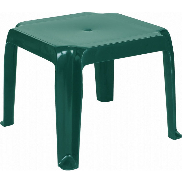 Sunray Resin Square Side Table - grayburd