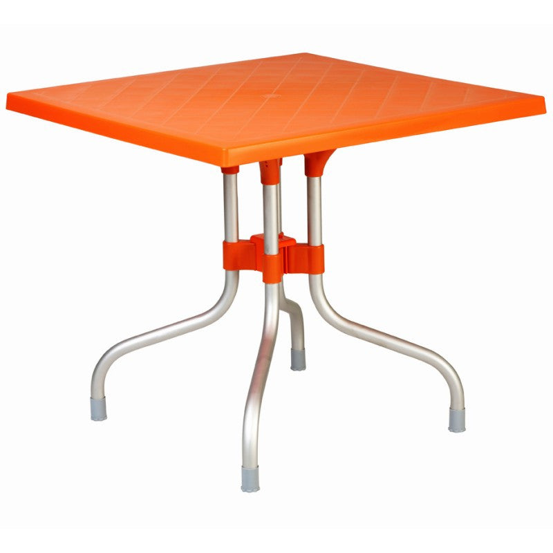 Forza Square Folding Table 31 inch - grayburd