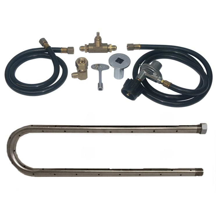 36 inch Stainless Steel U Burner Kit LP - grayburd