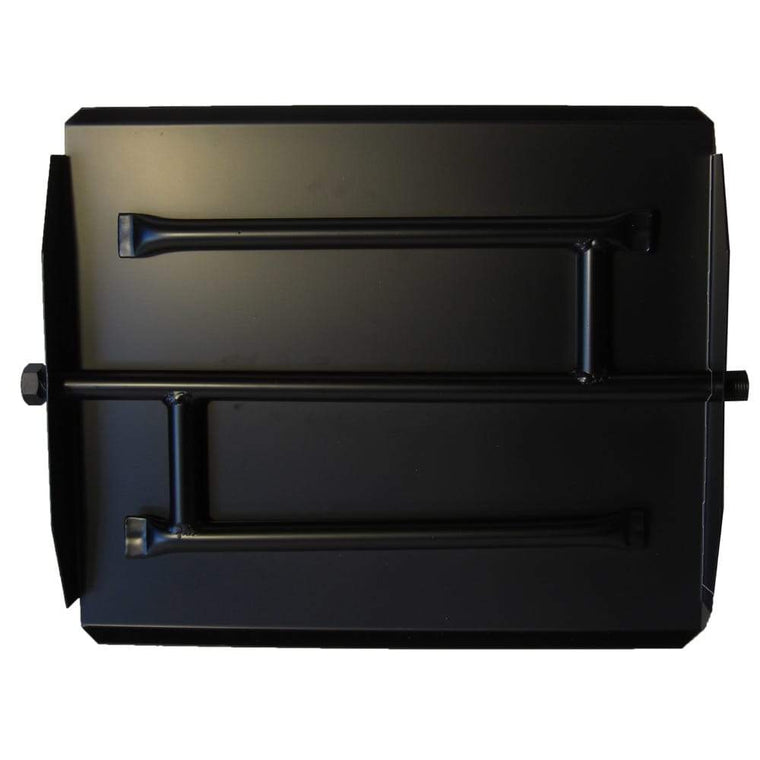 17 inch Powder Coated Triple Xtra Flame Burner Pan - grayburd