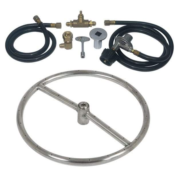 12 inch Stainless Steel Ring Kit LP - grayburd