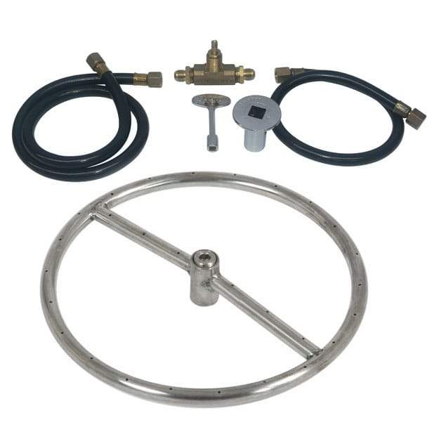12 inch Stainless Steel Ring Kit NG - grayburd
