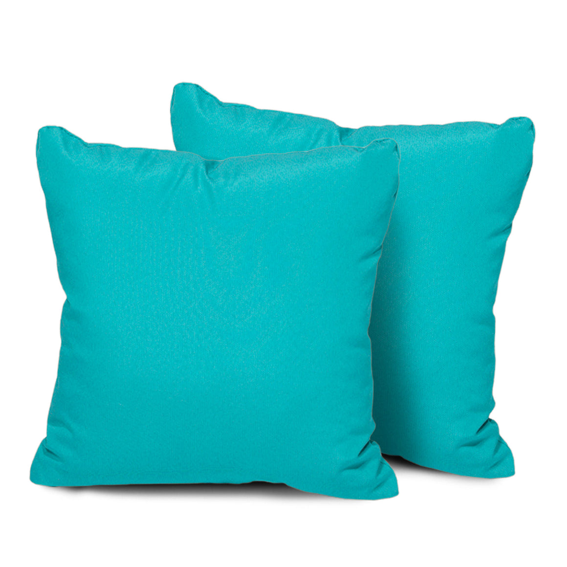 Aruba Outdoor Throw Pillows Square Set of 2 , TK Classics- grayburd