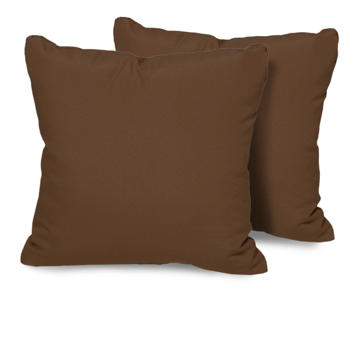 Cocoa Outdoor Throw Pillows Square Set of 2 , TK Classics- grayburd