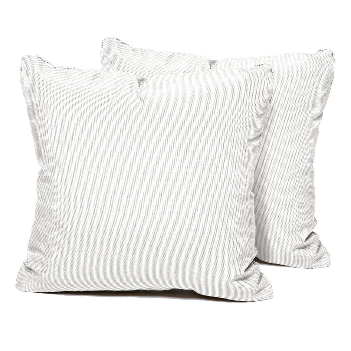 Sail White Outdoor Throw Pillows Square Set of 2 , TK Classics- grayburd