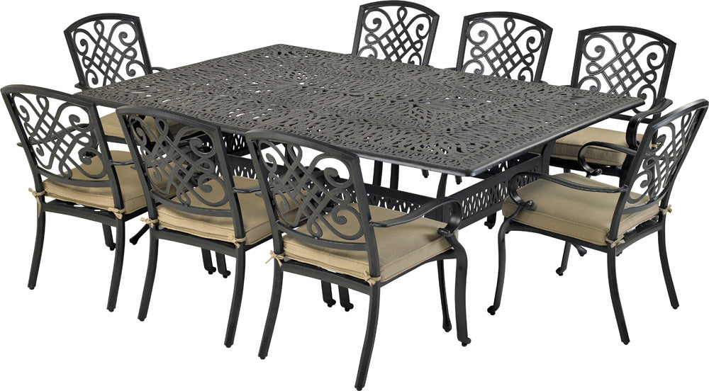 Bridgetown 9-Piece Dining Set