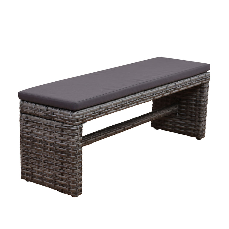 Atlantic Cebu 2-Seater Patio Bench , International Home Miami- grayburd