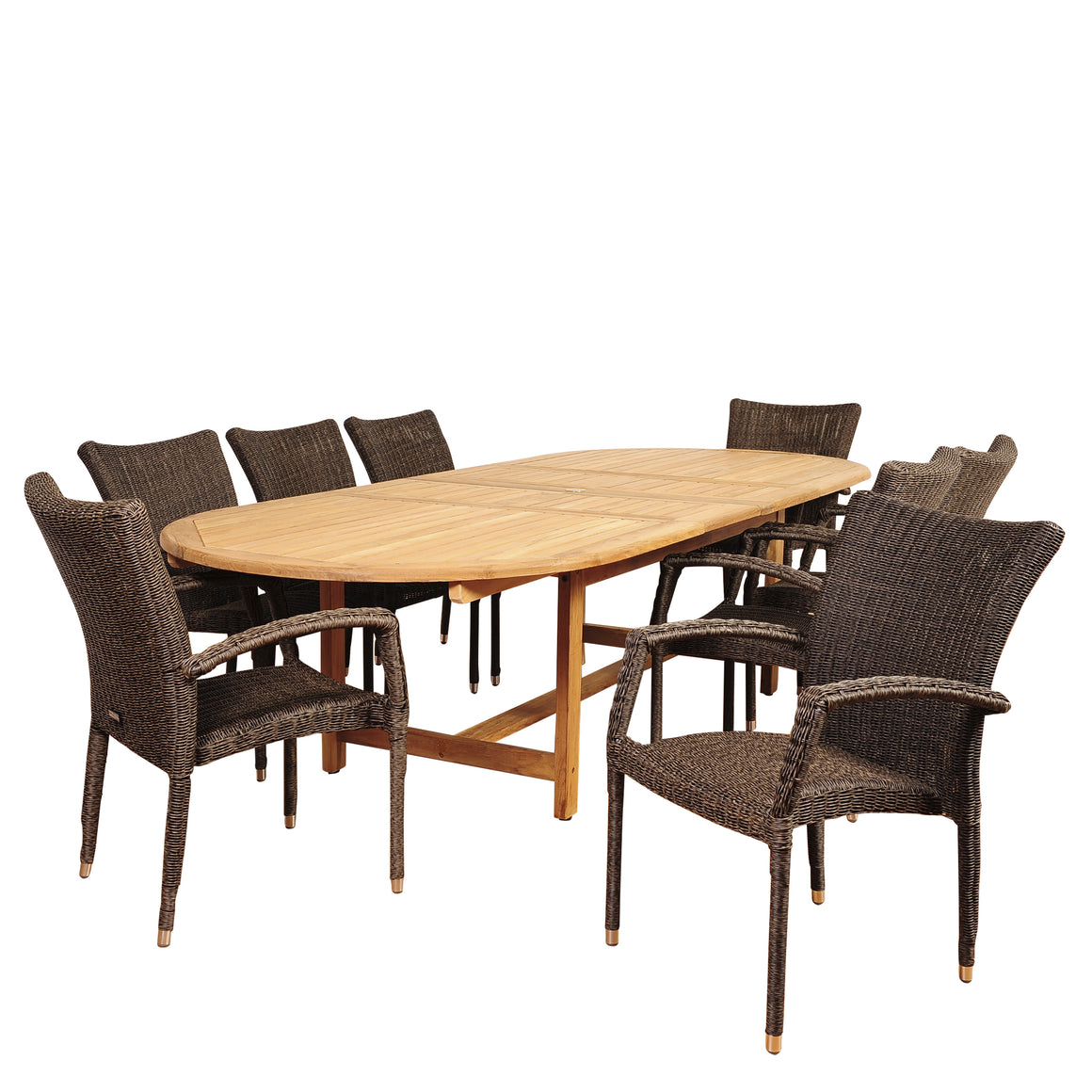 Amazonia Ocean Grove 9 Piece Dining Set , International Home Miami- grayburd