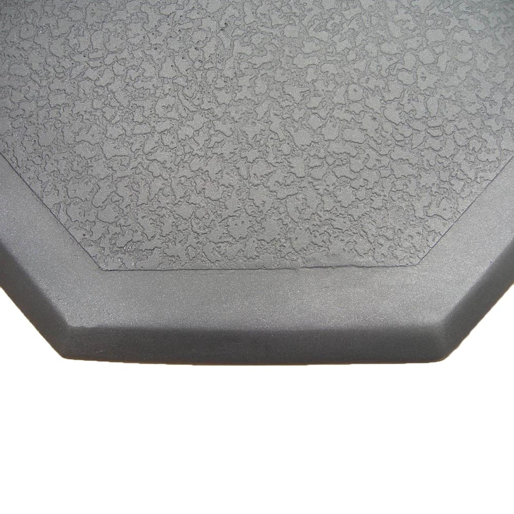 40 40 Black Textured Corner Thermal Pad - grayburd