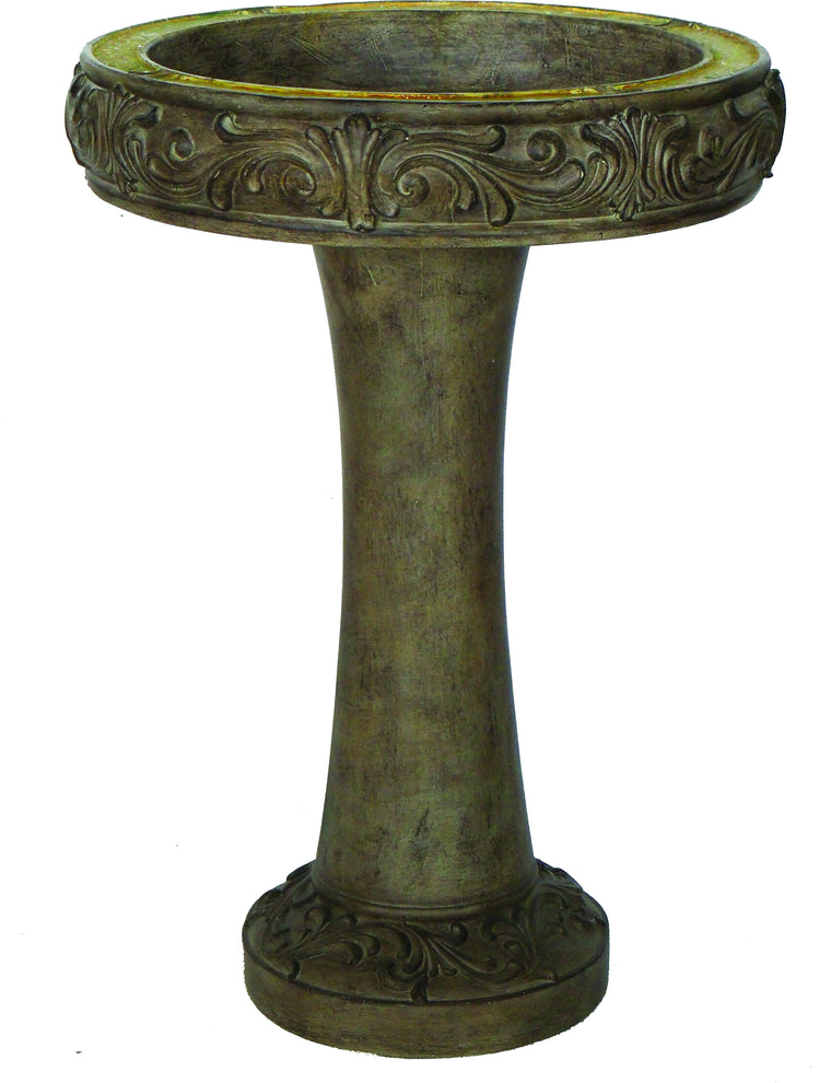 Madrid Birdbath Fountain Brown , Bond- grayburd