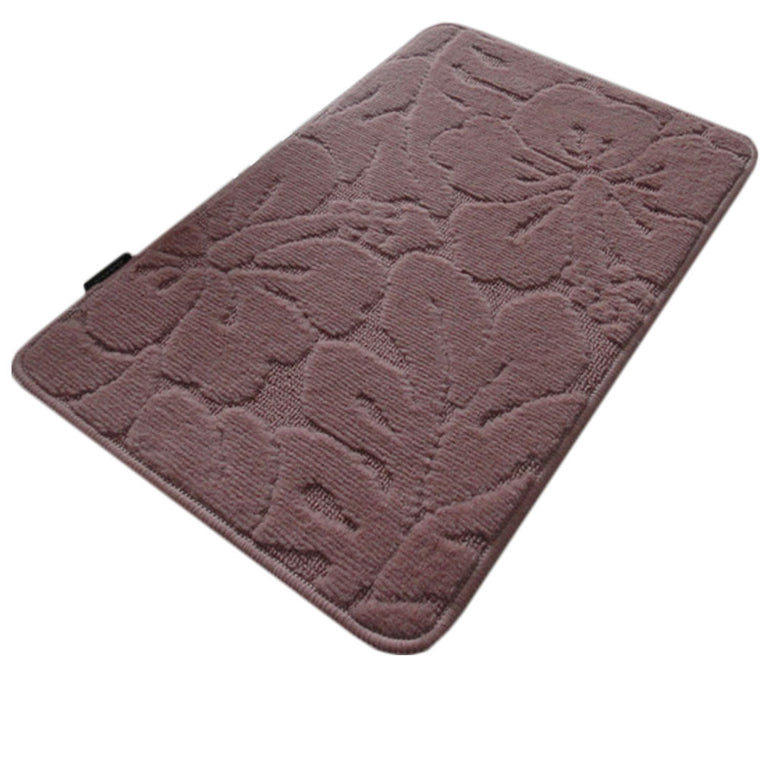 Durable Dustproof Doormat Entrance Mat Non-slip Rug Home Decor-Pink , George & Jimmy Creative Ltd- grayburd