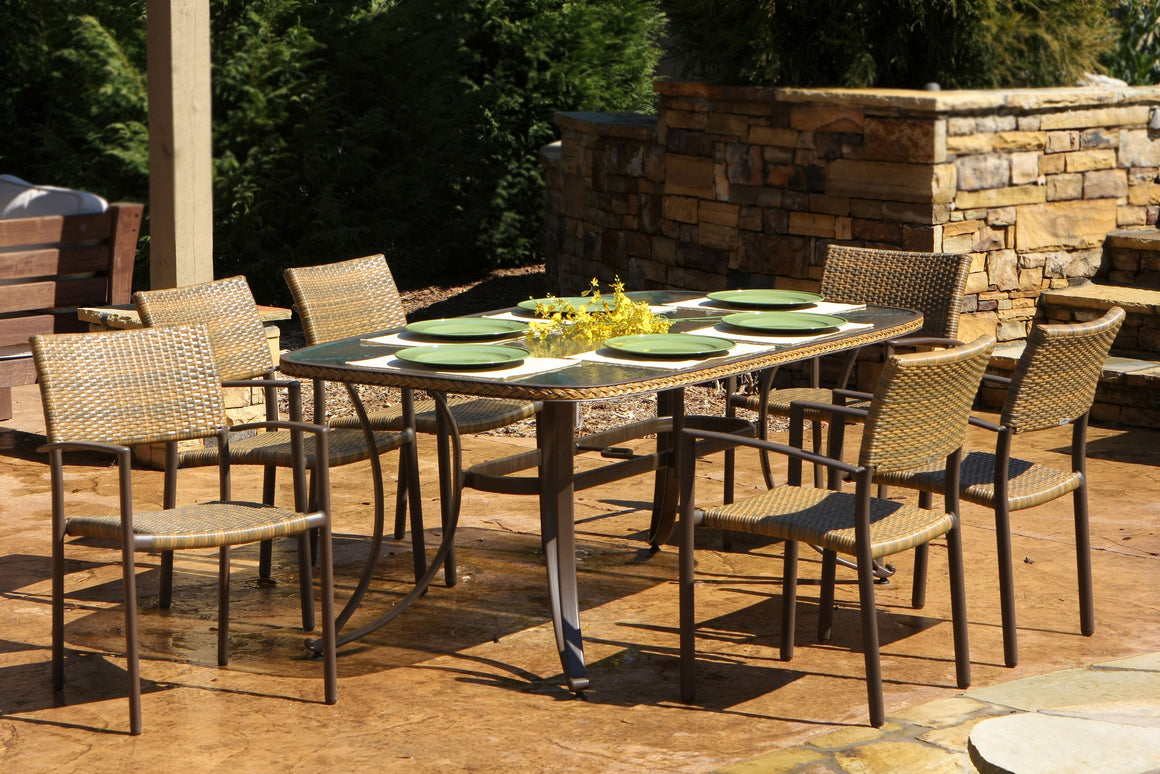 Maracay 7-Piece Dining Set (rectangular dining table, 6 chairs)