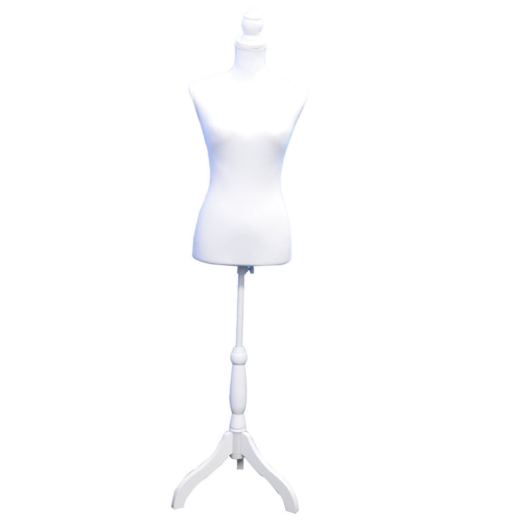 Female solid white Mannequin , Benzara Inc- grayburd