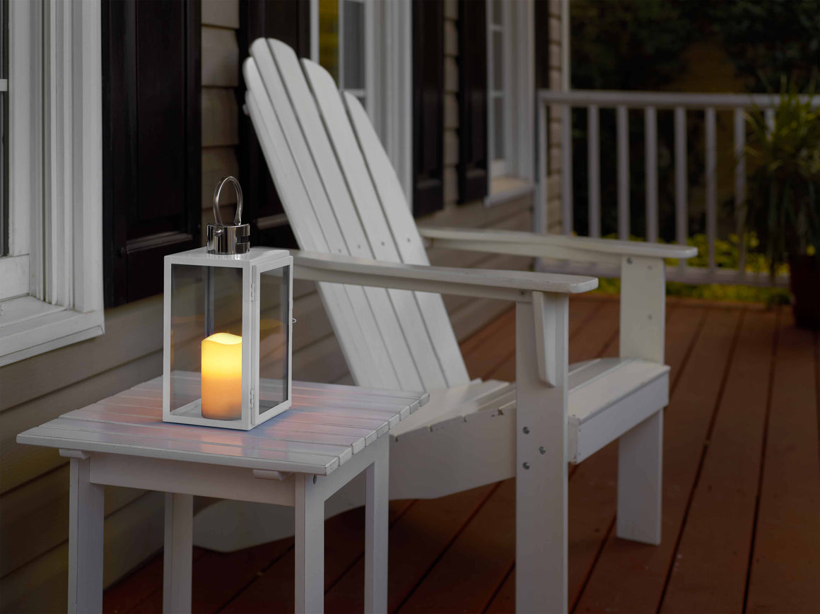 "Nemo 11"" LED Candle Lantern - White"